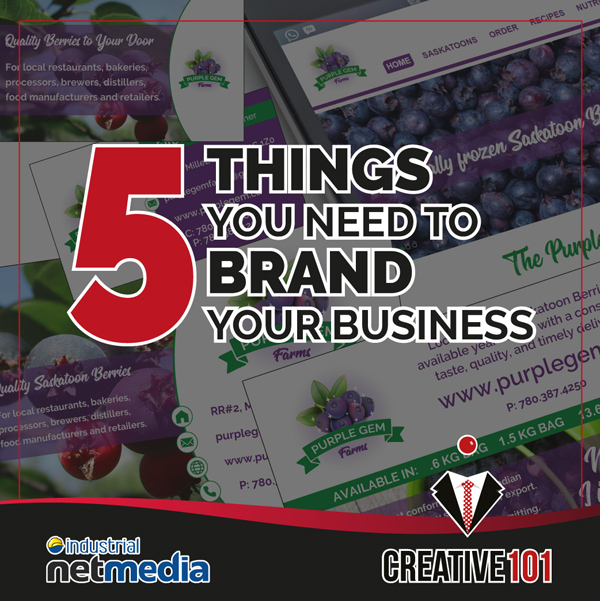 5 things you need to brand your business
