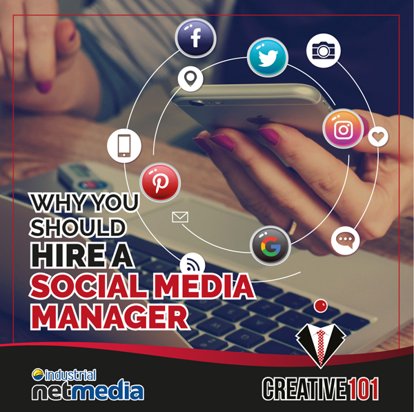 Hire a Social Media Management Team at Creative101