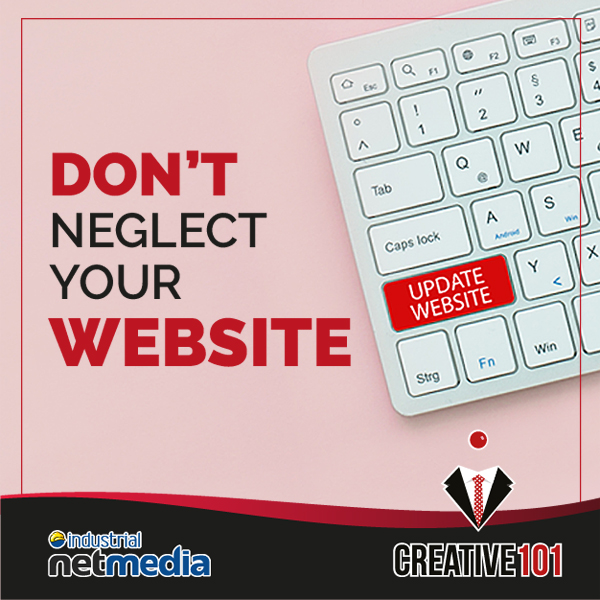 Keep your website up to date