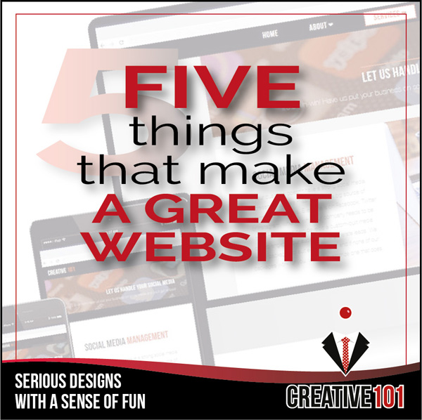 Make your website great!