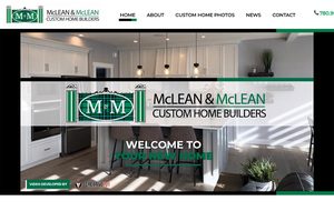 Home page for McLean & McLean Custom Home Builders