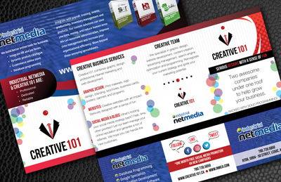 Creative101 INM brochure