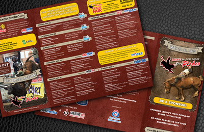 Leduc Black Gold Rodeo brochure