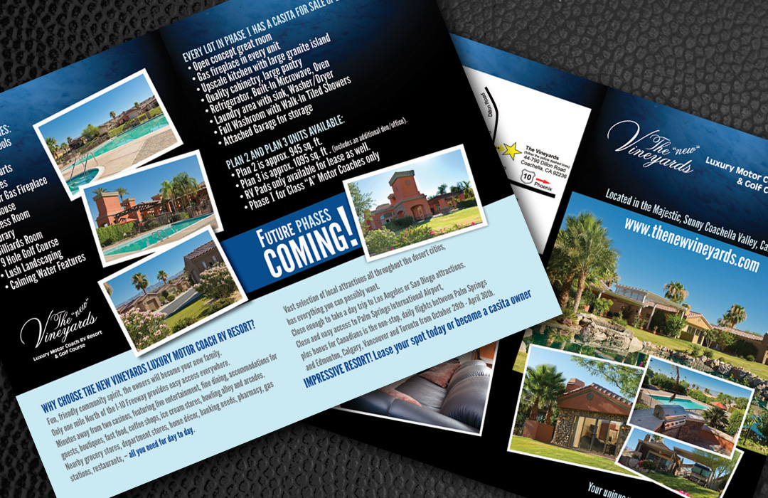 Vineyards brochure