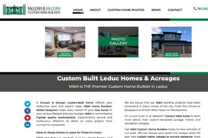Sample page for McLean & McLean Custom Home Builders