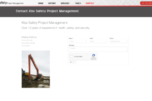 Kiss Safety Contact Page
