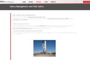 Kiss Safety Safety Management Page